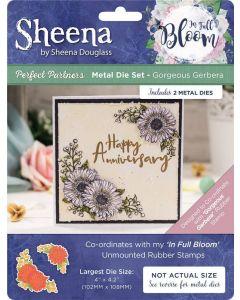 Sheena Douglass Perfect Partners In Full Bloom Metal Die - Gorgeous Gerbera