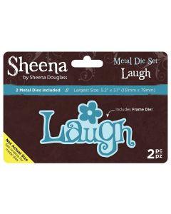 Sheena Douglass Metal Die Set - Laugh