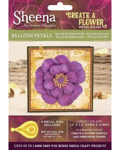 Sheena Douglass Perfect Partners Create a Flower Metal Die - Balloon Petals