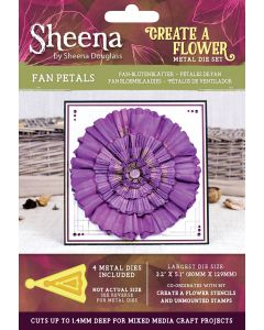Sheena Douglass Perfect Partners Create a Flower Metal Die - Fan Petals