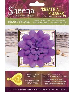 Sheena Douglass Perfect Partners Create a Flower Metal Die - Heart Petals