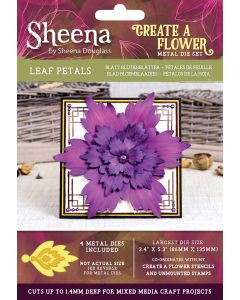 Sheena Douglass Perfect Partners Create a Flower Metal Die - Leaf Petals