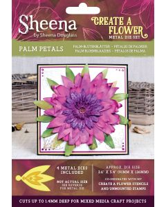Sheena Douglass Perfect Partners Create a Flower Metal Die - Palm Petals