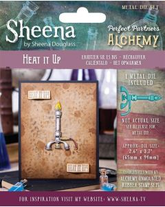 Sheena Douglass Perfect Partners Alchemy Metal Die - Heat It Up