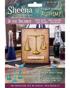 Sheena Douglass Perfect Partners Alchemy Metal Die - In The Balance