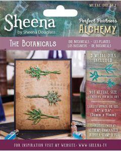 Sheena Douglass Perfect Partners Alchemy Metal Die - The Botanicals