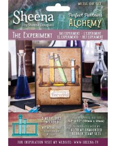 Sheena Douglass Perfect Partners Alchemy Metal Die - The Experiment