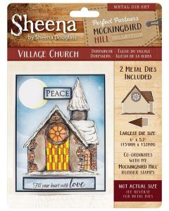 Sheena Douglass Perfect Partners Mockingbird Hill Metal Die - Village Church