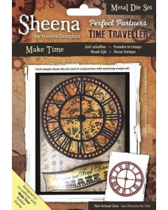 Sheena Douglass Perfect Partners Time Traveller Metal Die - Make Time