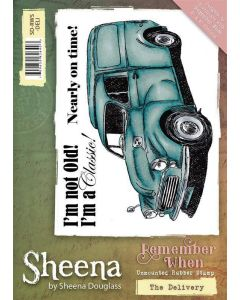 Sheena Douglass Remember When A6 Rubber Stamp Set Set - The Delivery