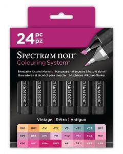 Colouring System by Spectrum Noir 24 Pen Set - Vintage