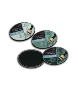 Harmony by Spectrum Noir Water Reactive 3PC Dye Inkpads - Mineral Greens