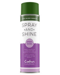 Crafter's Companion Spray and Shine High Gloss Varnish (GREEN CAN)