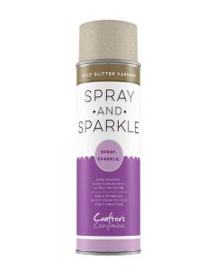 Crafter's Companion Spray and Sparkle Gold Glitter Varnish
