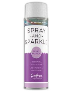 Crafter's Companion Spray and Sparkle Iridescent Glitter Varnish