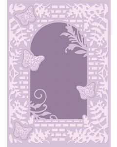 Crafter's Companion Nature's Garden Spring is in the Air Cut & Emboss Folder - Country Cottage