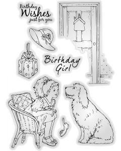Jayne Nestorenko Die and Stamp Sets - Birthday Girl