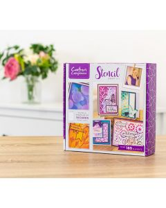 Crafters Companion Monthly Craft Kit 14 - Stencil Craft Kit (Individual Purchase)