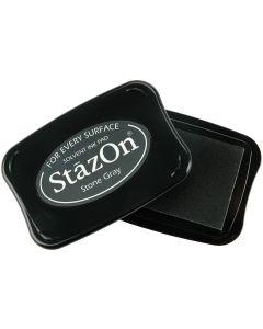 Stone Grey StazOn Ink Pad