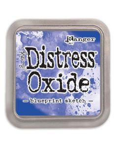 Tim Holtz Distress Oxides Ink Pad - Blueprint Sketch
