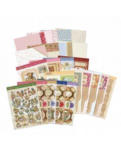Hunkydory Teddy Bear's Picnic Luxury Card Collection