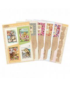 Hunkydory Teddy Bears Picnic Slider Cards