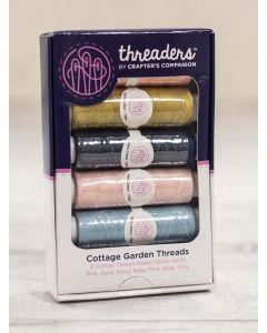 Threaders Cottage Garden - 6 Piece Thread Box