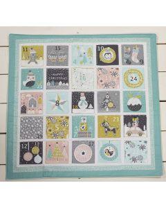 Threaders Merry and Bright Fabric - Advent Calendar