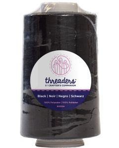 Threaders Overlocking Thread - Black