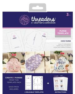 Threaders Coin Purse Template