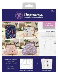 Threaders Pouch Purse Template