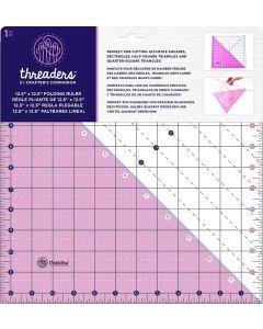 "Threaders 12.5"" x 12.5"" Folding Ruler"