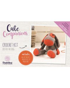 Threaders Cute Companions Crochet Kit - Dexter the Dog