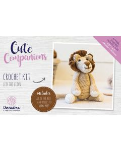 Threaders Cute Companions Crochet Kit - Leo the Lion