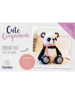 Threaders Cute Companions Crochet Kit - Pippa the Panda