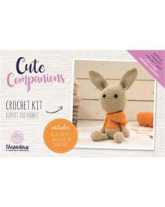 Threaders Cute Companions Crochet Kit - Rupert the Rabbit