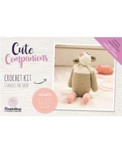 Threaders Cute Companions Crochet Kit - Stanley the Sheep