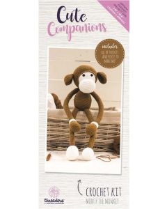 Threaders Cute Companions Crochet Kit - Monty the Monkey