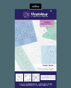 Threaders Quilting Stencils - Teddy Bear