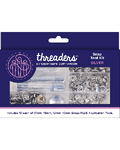 Threaders Snap Tool Kit - Silver