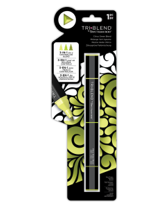 Spectrum Noir TriBlend Markers - Citrus Green Blend