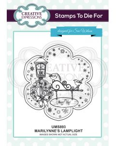 Creative Expressions Pre Cut Stamp - Marilynne's Lamplight