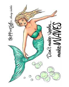 Crafter's Companion A6 Rubber Stamp - Mermaid Dreams