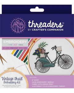 Threaders Embroidery Kit - Vintage Trail