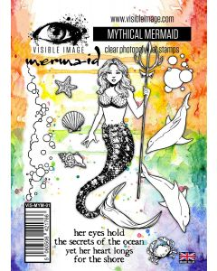 Visible Image Mythical Mermaid Stamp Set