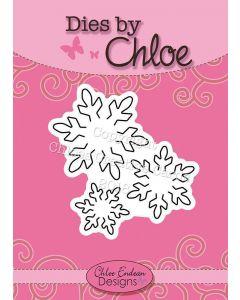 Dies by Chloe - Small Snowflakes