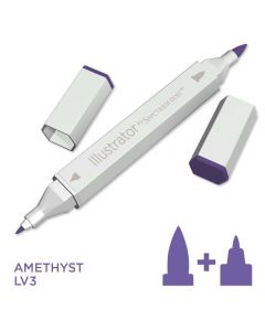 Illustrator by Spectrum Noir Single Pen - Amethyst