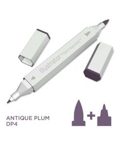 Illustrator by Spectrum Noir Single Pen - Antique Plum