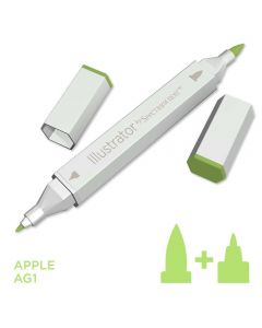 Illustrator by Spectrum Noir Single Pen - Apple