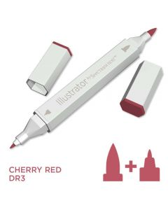Illustrator by Spectrum Noir Single Pen - Cherry Red